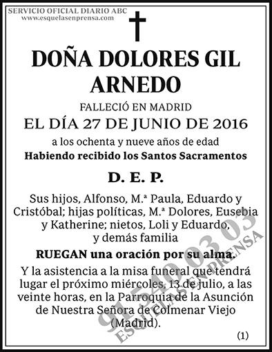 Dolores Gil Arnedo